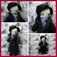 Sherlock amigurumi