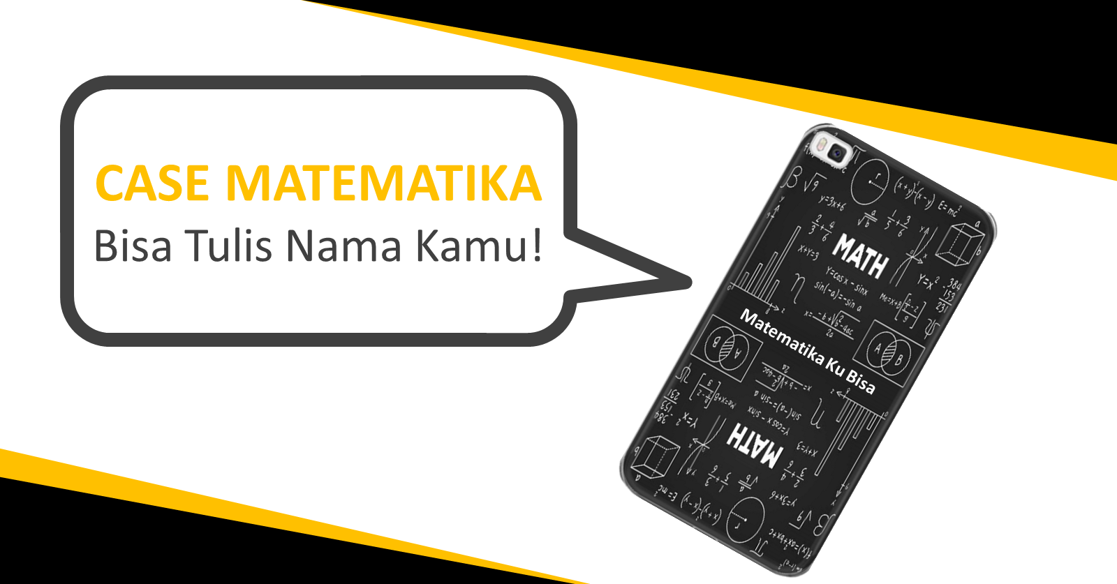 Custom Case Matematika