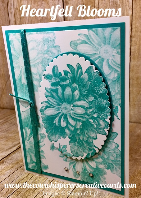 Card, Heartfelt Blooms, Spotlight Technique