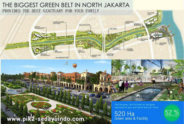 PIK2 Sedayu Indo City Green Belt