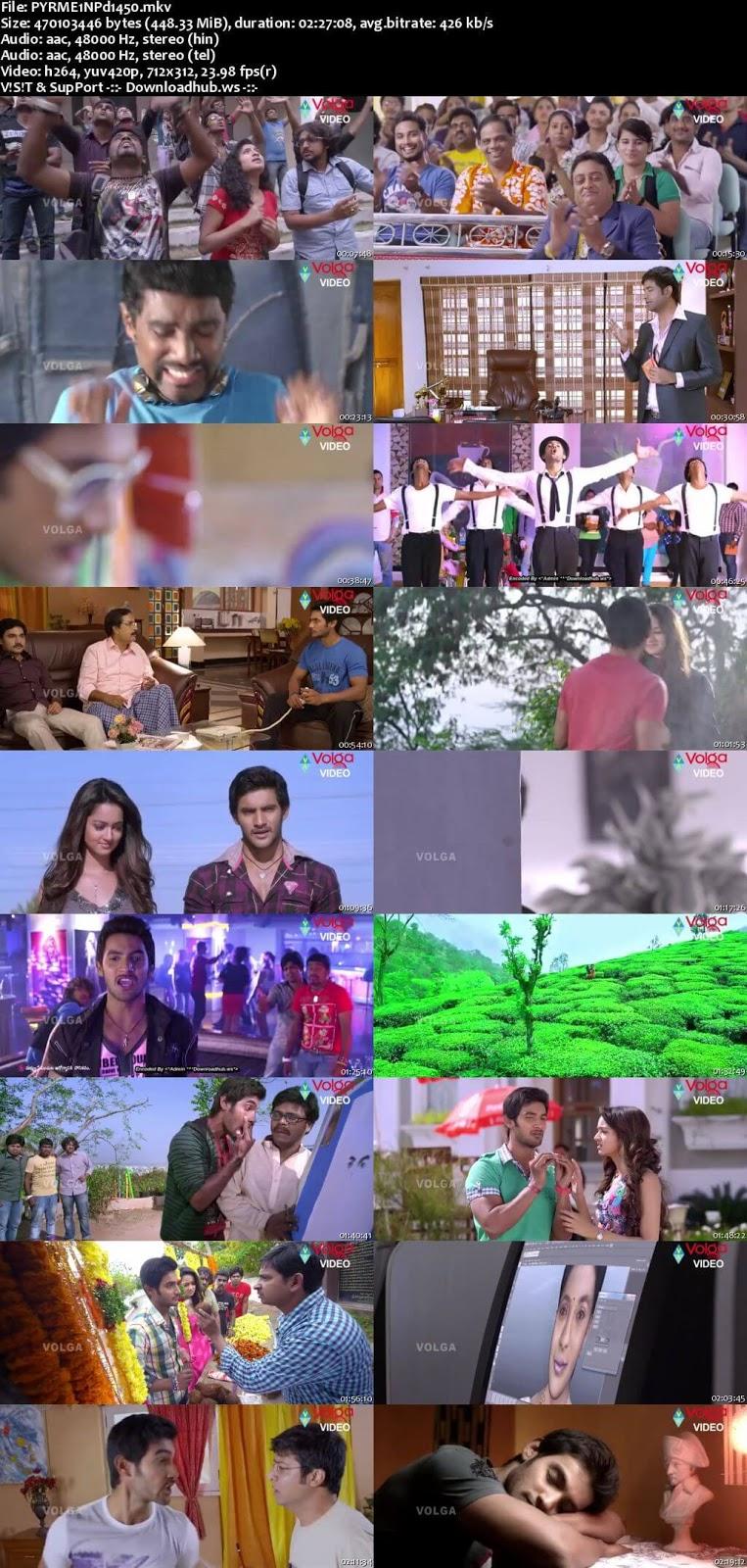 Pyar Mein Padipoyane 2014 UNCUT Hindi Dual Audio 480p HDRip Download