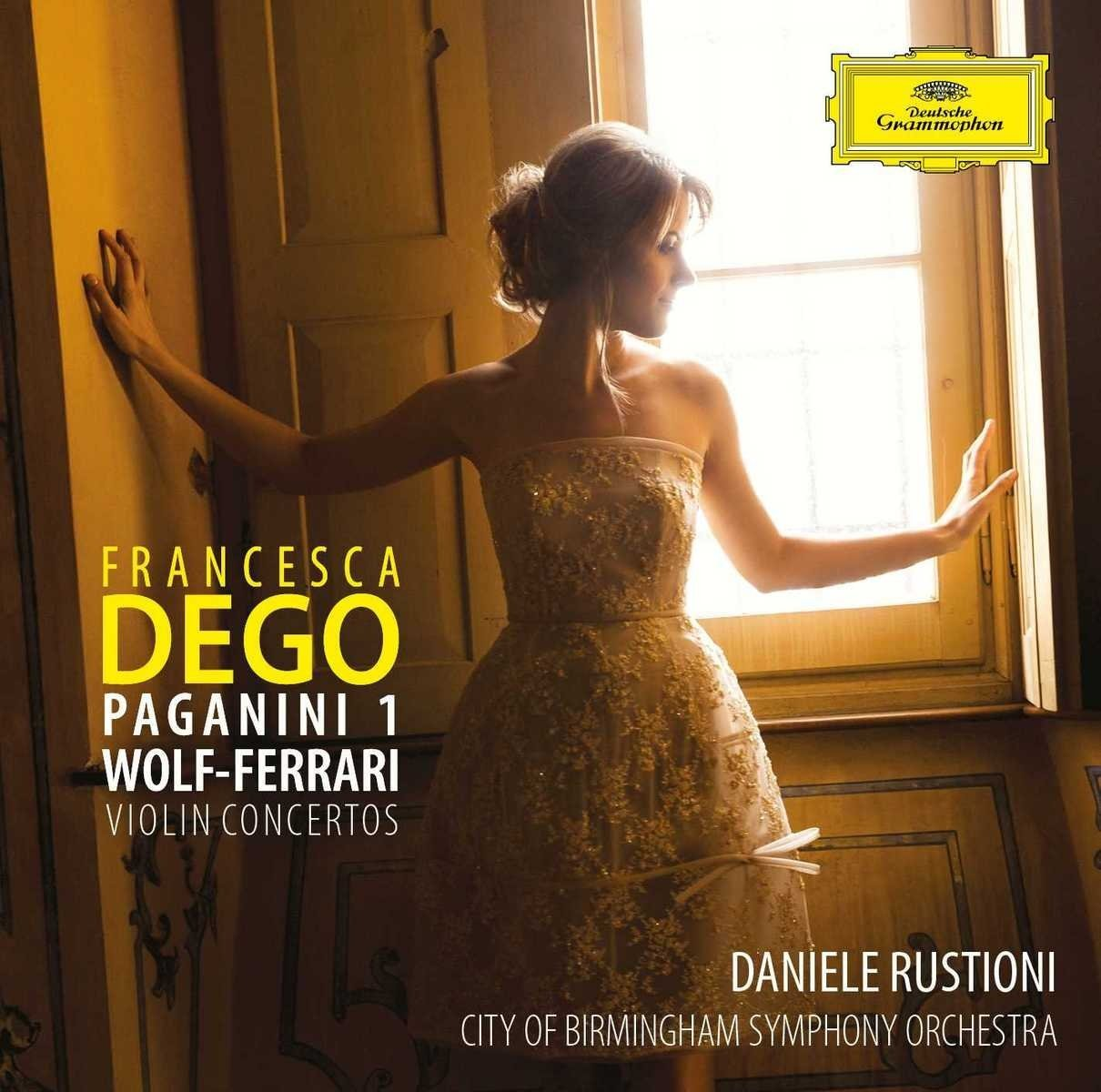March 2018 RECORDING OF THE MONTH: Niccolò Paganini & Ermanno Wolf-Ferrari - VIOLIN CONCERTOS (Deutsche Grammophon 481 6381)