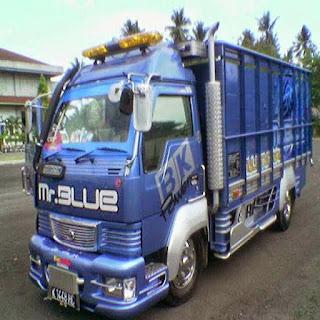 modifikasi truk ragasa ala transformer