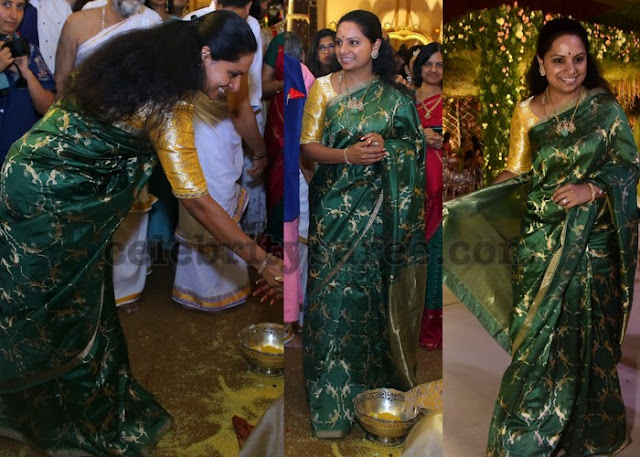 Kavitha at Anirudh Reddy Wedding