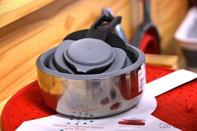 קומקום מתקפל folding teapot