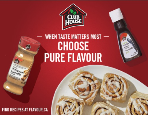 Save.ca Club House $1 Off Herb, Spice or Extract Coupon