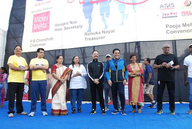 Smt. Jyotsna A. Dighe, Dr. Mickey Mehta, Govinda & Hemant Nair