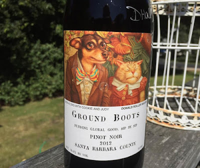"Gyspy Canyon ""Ground Roots"" 2012 Pinot Noir"