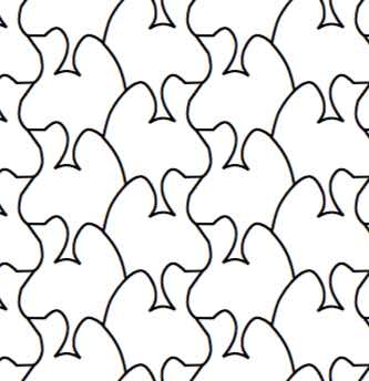 MazePuzzles: More Tessellations: A Coloring Book