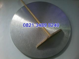 Wajan crepes bahan curah aluminium tidak anti lengket