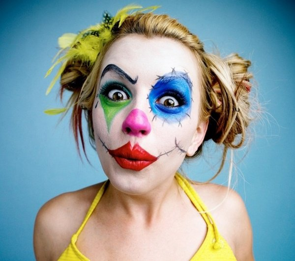 Scary Halloween Makeup Ideas 2017 For Women, Clown, Guys ...