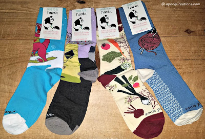 Sock Panda knitting socks subscription funky crazy