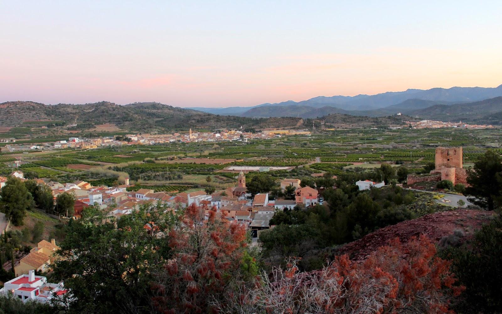 Vistas de Torres-Torres. Sierra Calderona