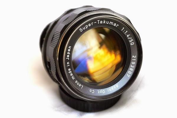 Lens Crazy: Super-Takumar 50mm f1:1 4 (8 element version)