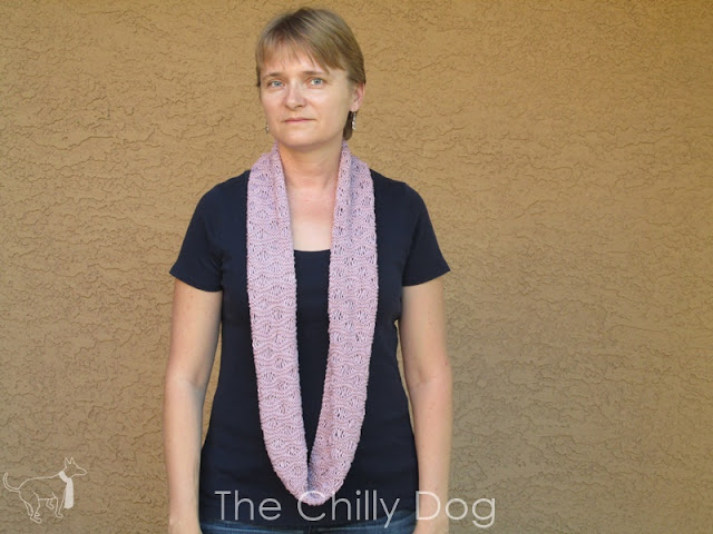 Unwind Infinity Scarf: Loosen up with this free knit pattern for spring