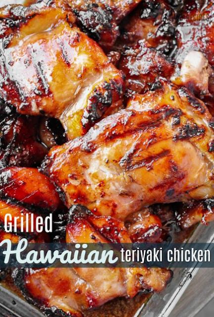 Grilled Hawaiian Teriyaki Chicken