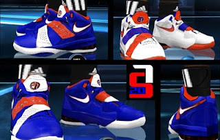 huge selection of 8bc7f d8832 The Nike Air Max Sweep Thru NBA 2K12 Shoes Patch