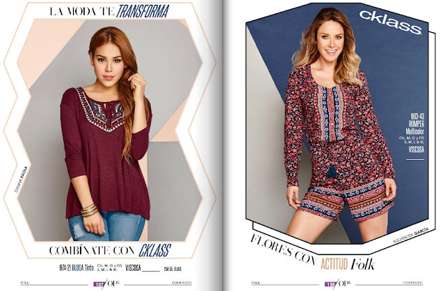 ropa cklass 2016 tendencia damas en linea