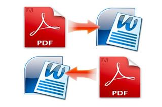 Cara Convert File Doc ke PDF dan Sebaliknya File PDF ke Word Dengan Mudah Dan Cepat