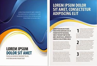 Vector Brochure Design Template 2 Download Free Download