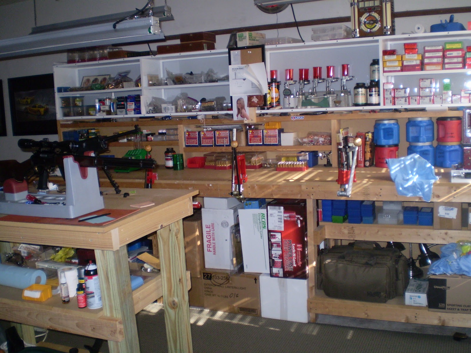 Midway Auto Parts >> Back To Georgia: Reloading Room
