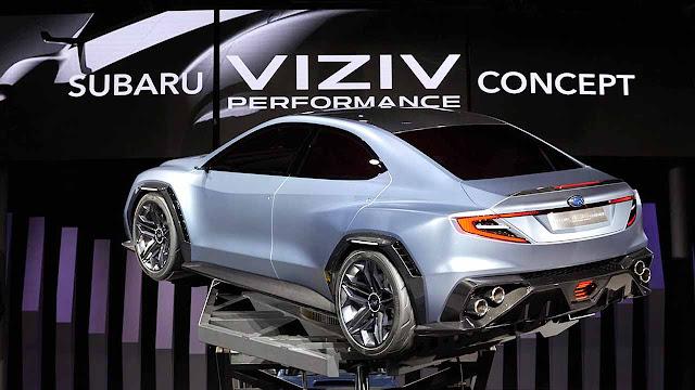 The Subaru VIZIV Performance Concept will be the most aggressive WRX STi in history