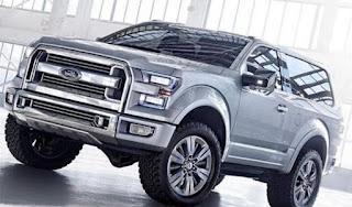 2018 Ford Bronco Image, prix, spécifications et date de sortie Rumor