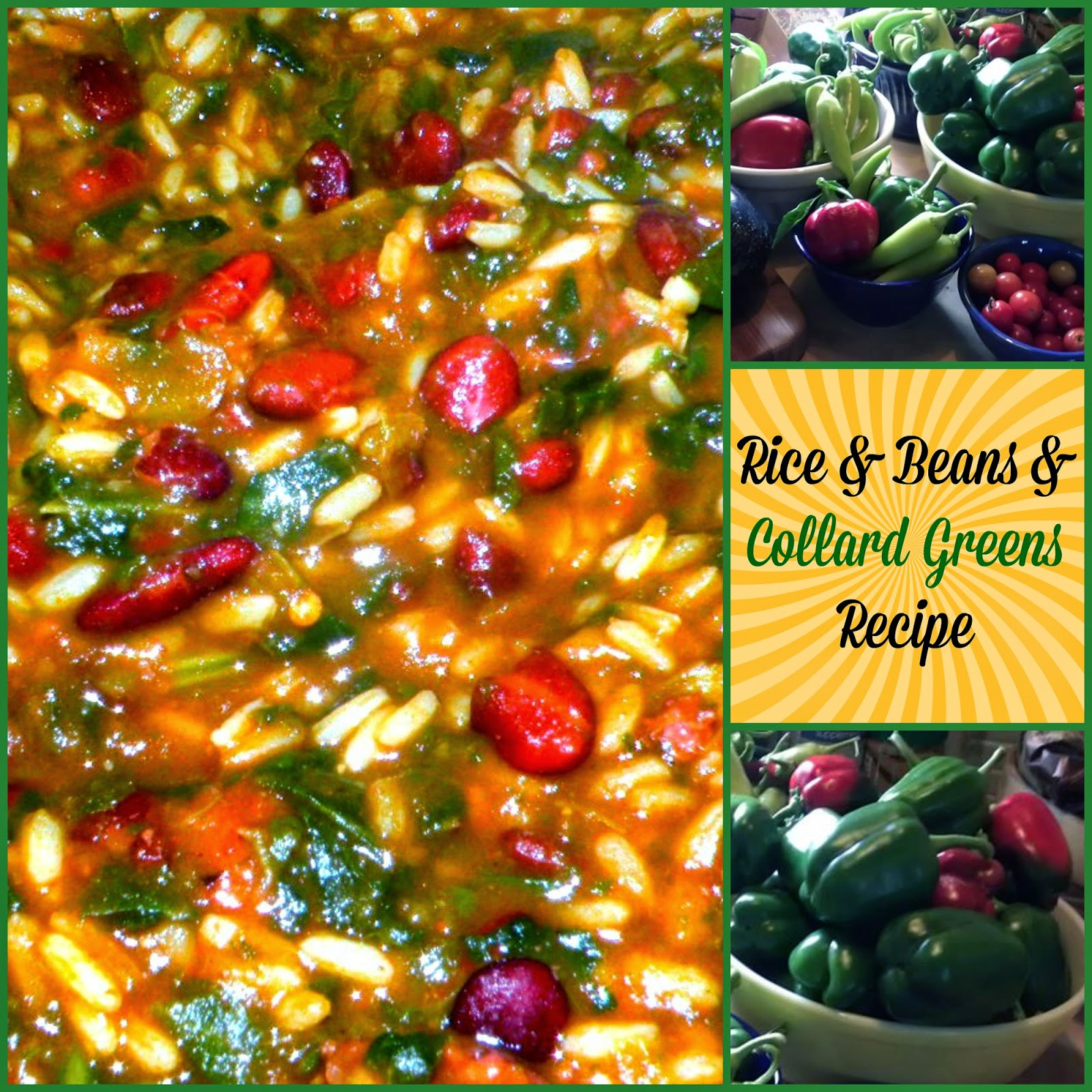 Rice Beans and Collard Greens Recipe