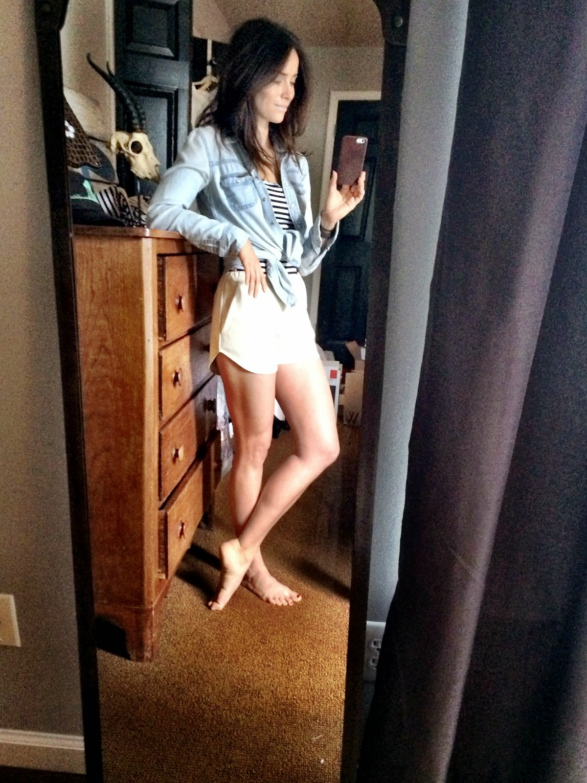 Abigail Spencer Nude Selfie Pictures