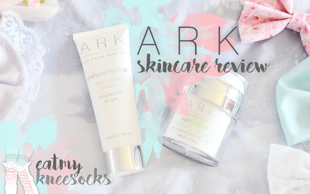 It's been a while, but I'm back today with another skincare review! I recently got two products from ARK Skincare, including their Hydation Injection Masque and Replenishing Moisturizer. - Eat My Knee Socks / Mimchikimchi