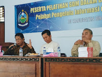 Diskominfotik NTB Beri Pelatihan SDM PPID Kabupaten Bima