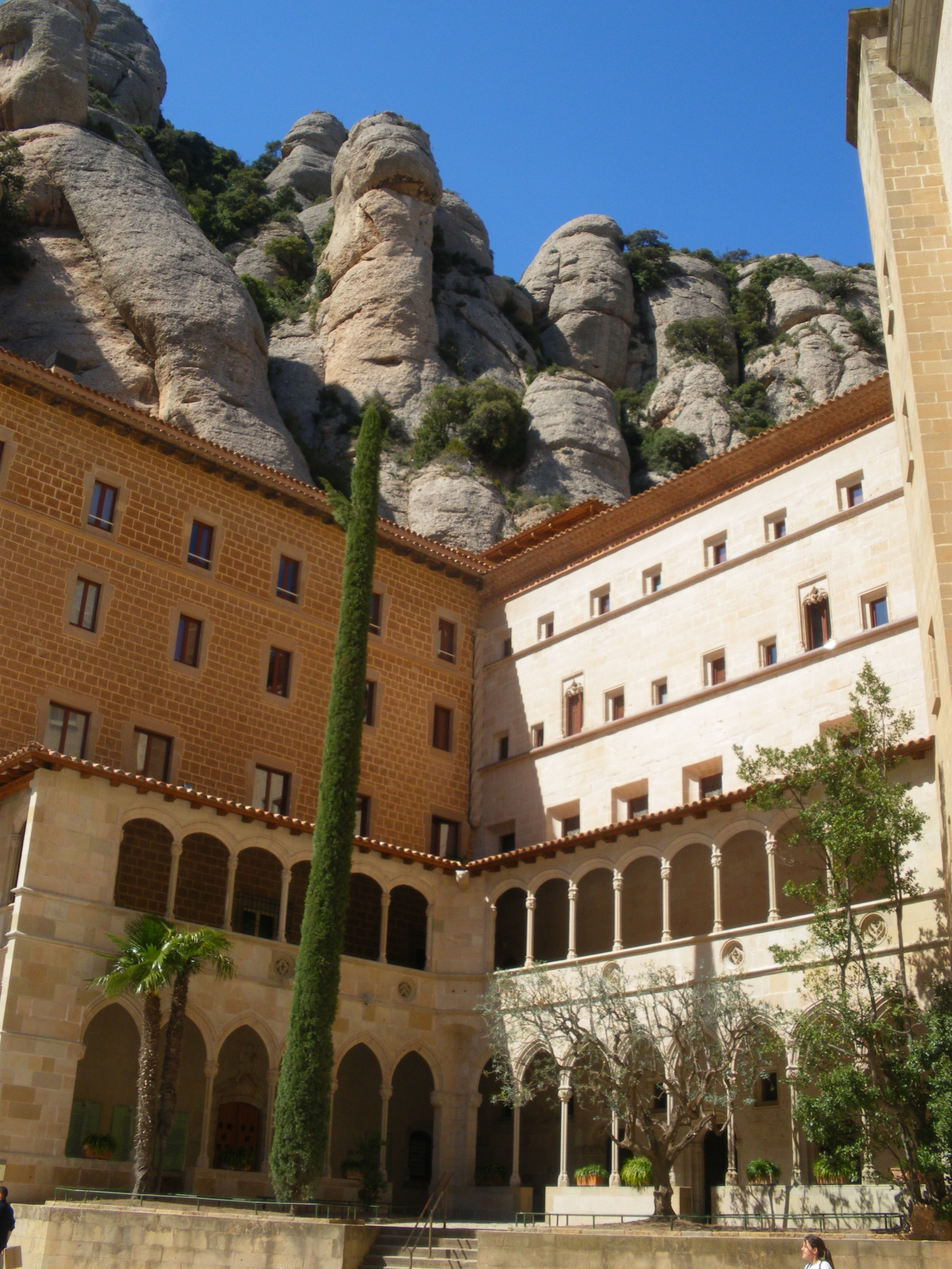 Ruta senderista per Montserrat
