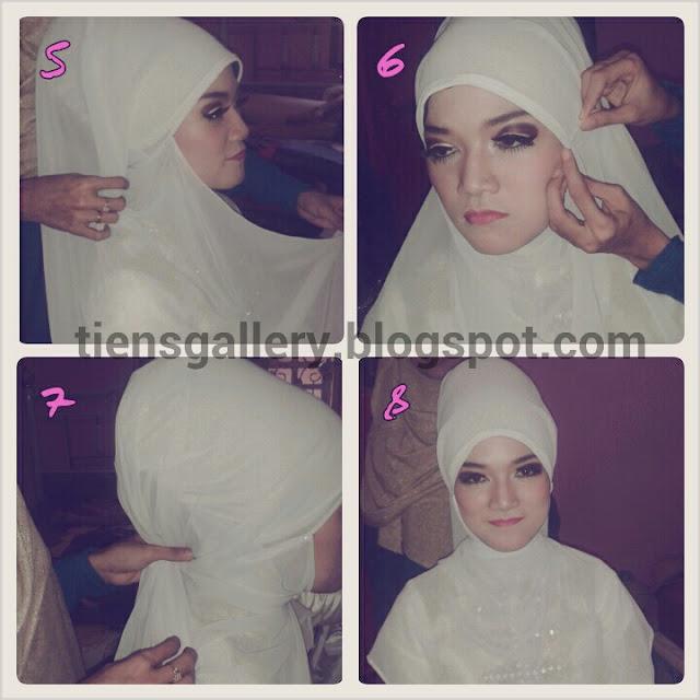Cara Memakai Hijab Pengantin Syari Hijabfest