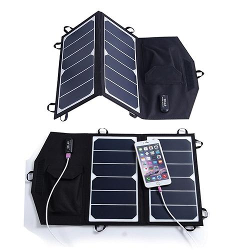 Panneau solaire pliable portable