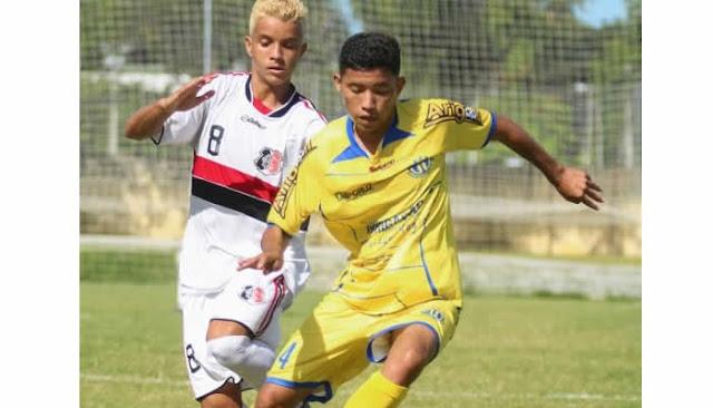 Horizonte vence o Santa Cruz e avança no Cearense Sub-17.