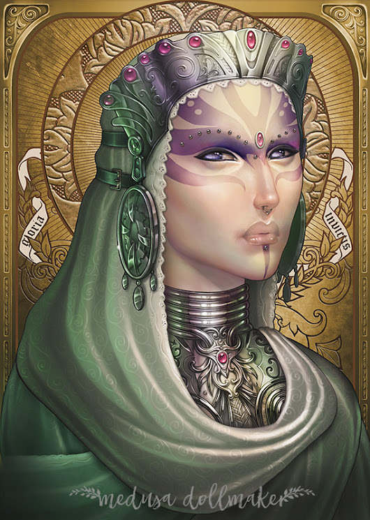 Our Cosmic Lady - Medusa Dollmaker