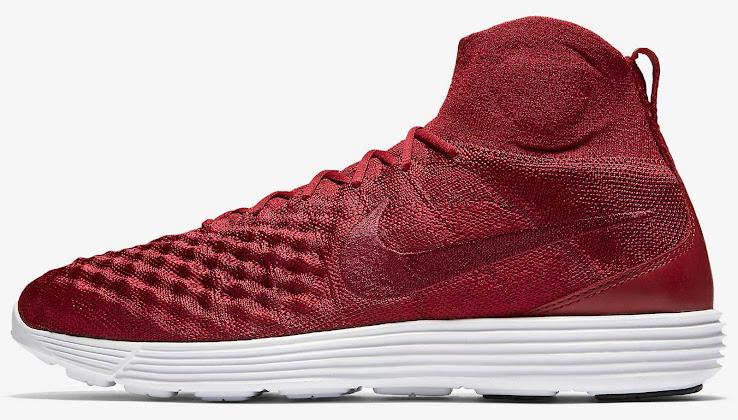f773713fe93d Dark Red Nike Lunar Magista II Flyknit Shoes Revealed - Footy ...