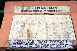 Tragedi RANU GRATI Sejarah duka TŇI 17-oktober 1979