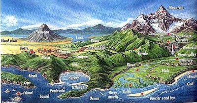 Bentuk Bentuk Muka Bumi Daratan Dan Perairan Bentuk Bentuk Muka Bumi Daratan Dan Perairan