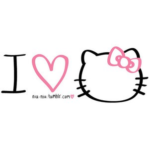 Gambar I Love Hello Kitty 5