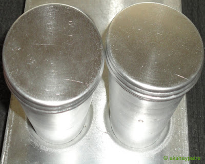 cover the mould with lid