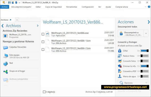 Descargar WinZip Pro Español