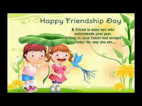 Wish you happy Friendship day 2016 cliparts