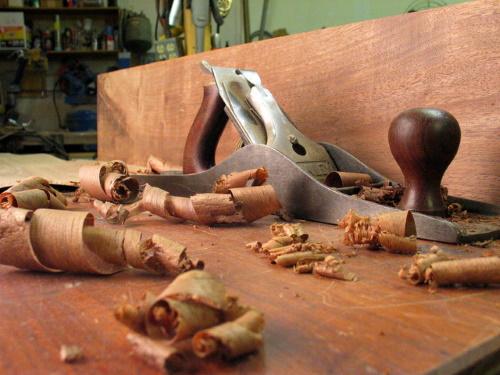 #PraCegoVer: Carpintaria.