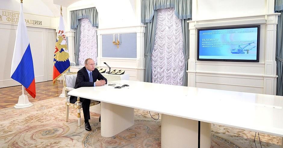 Putin hält G1-Gipfel in Moskau ab
