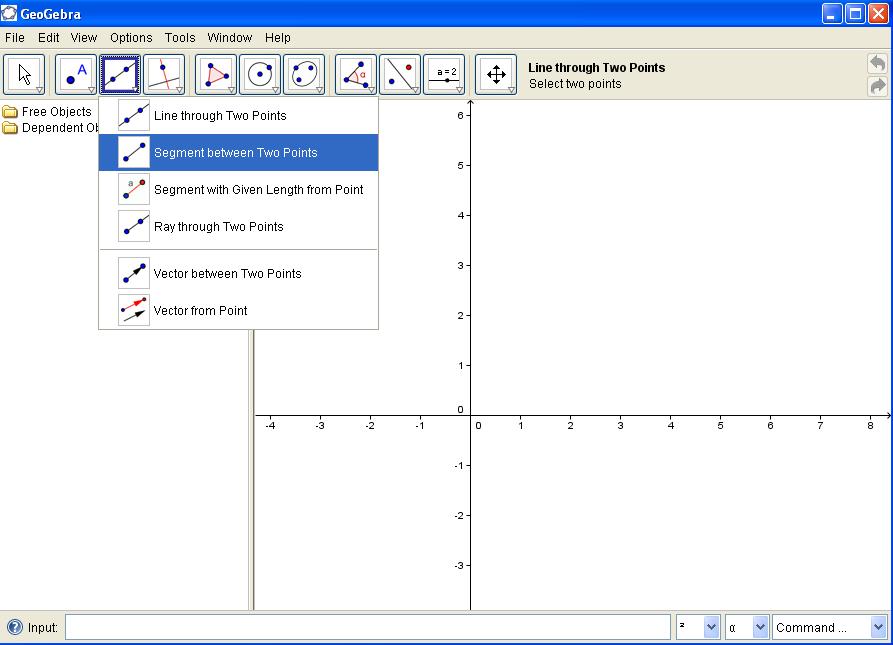 Printable Worksheets measuring line segments worksheets : Geogebra Gradient of a line segment Coordinate Geometry Worksheet ...