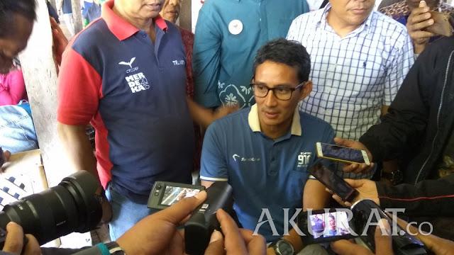 Sandi Uno: Debat Capres Bukan Ajang Saling Serang