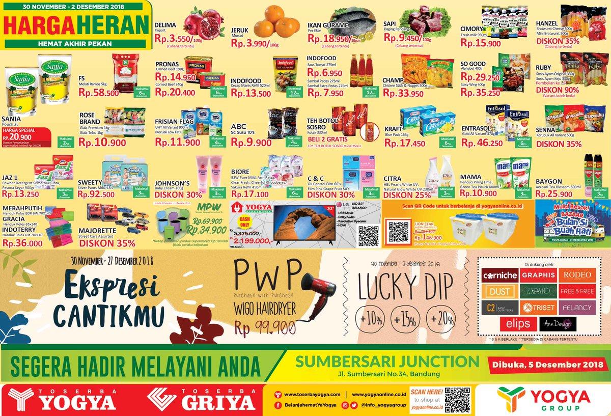 Yogya - Promo Katalog JSM Periode 30 - 02 Desember 2018