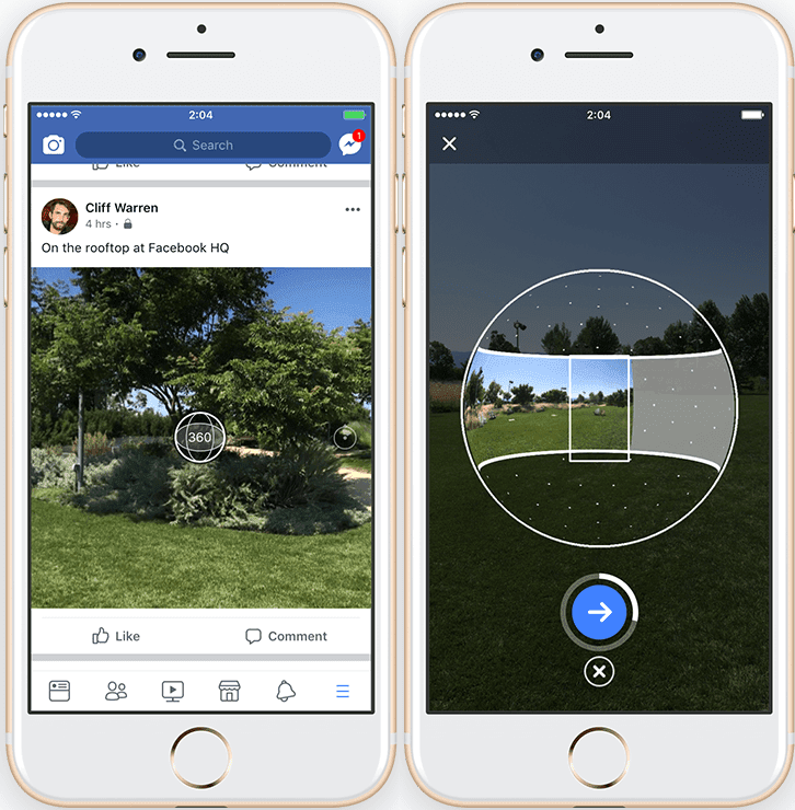 Learn How to Use Facebook's Awesome 360 Degree Photo Feature