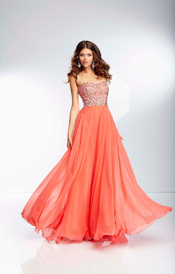 Vestidos Color Coral